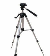 Large aluminium photography tripod with quick release plate for scopes & cameras