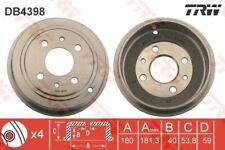 TRW DB4398 Bremstrommel Heck Mann