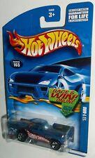 Hot Wheels 2002 Collector #165 '57 1957 T Bird T-Bird Mtflk Blue 5SPs 55050