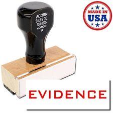 Acorn Sales - Evidence Rubber Stamp