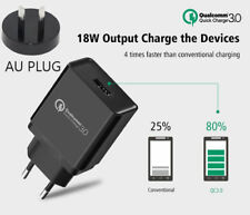 Qualcomm 3.0 Certified Quick Charge High Speed Wall Charger For Iphone Samsung