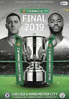 CHELSEA v MANCHESTER CITY 2019 Carabao Cup Final Programme  New Free UK Post