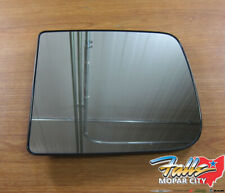 2011-2015 Dodge Ram Left Side View Tow Mirror Heated Replacement Glass New OEM