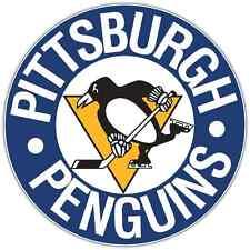 "Pittsburgh Penguins NHL Hockey Bumper Locker Notebook Sticker Decal 4.5""X4.5"""