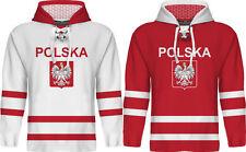 NEW 2018 Team Poland Hockey Hoodie Special Limited Fan Edition NHL Polska Wolski