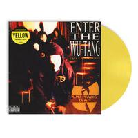 Wu-Tang Clan - Enter The Wu-Tang (36 Chambers) Limited Yel (1993 - EU - Reissue)