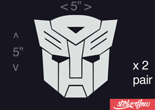 Transformers Autobot Decal Sticker Vinyl - Car Truck Window Wall Decor