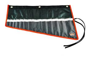Ergodyne Arsenal 5873 Wrench Roll-Up Pouch, Short, 14-Pockets, Black
