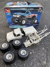 2002 Amt Ertl Big Foot Monster Truck 1/25 Plastic Model Kit Parts Junkyard