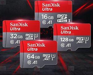 🔥 SanDisk Ultra Micro SD Card 16GB 32GB 64GB 128GB Class 10 SDHC SDXC TF Memor