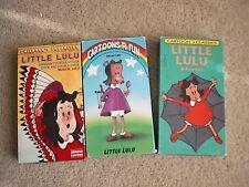 3 Little Lulu VHS TAPES Cartoon classics