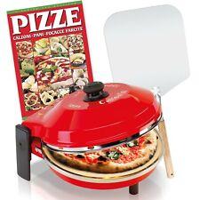 Forno pizza fornetto Spice Caliente 1200 W + Pala Alluminio + Ricettario