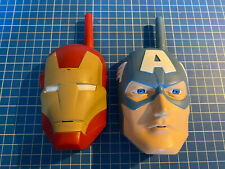 Marvel Avengers Iron Man Captain America Walkie Talkies Toys