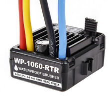 Electronic Speed Controller For RC 1/10 Car Waterproof Brushed ESC 1060 60A US