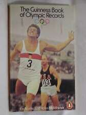 The Guinness Book of Olympic Records, , Very Good Book