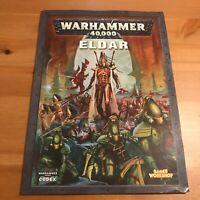 Eldar Codex - Warhammer 40k 40,000 Army Source Book 4th Edition 2006