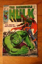 The Incredible Hulk #112 1969