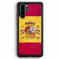 Spanien Grunge Espana Spain Huawei P30 Pro Silikon Hülle Motiv Design Cover H...