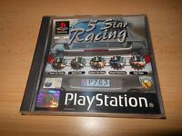 Sony Playstation 1 - Five 5 Star Racing  MINT COLLECTORS ps1 pal