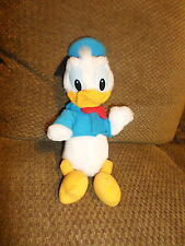 "Vintage Htf Nmint Disney Donald Duck 12"" Plush Disneyland World (30)"