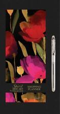 Spirit Fine Art Poppy Leaves Magnetic Shopping List Planner Pad Mini GEL Pen