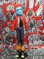 (Lot 4)  Monster High Doll, Holt Hyde, First Wave, 1st Wave, Boy