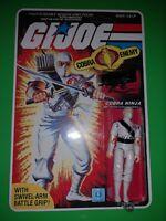 GI Joe 1984 Storm Shadow ARAH HASBRO Series 3 MOC Black Major