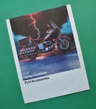 Original 1977 Harley FLH FLHS Electra Glide Motorcycle Accessory Catalog
