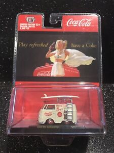 M2 Machines•2020•Coca-Cola•1960 VW Delivery Van•KOMBI•Limited Edition to 6980
