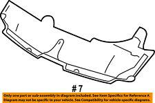 Dodge CHRYSLER OEM Sprinter 3500 Hood-Insulation Pad Liner Heat Shield 5104486AA
