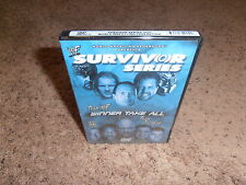 SURVIVOR SERIES 2001 wwf dvd USA RELEASE BRAND NEW SEALED wwe