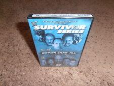 SURVIVOR SERIES 2001 wwf dvd USA RELEASE BRAND NEW SEALED