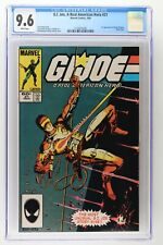 G.I. Joe, A Real American Hero #21 - Marvel 1984 CGC 9.6 1st App of Storm Shadow