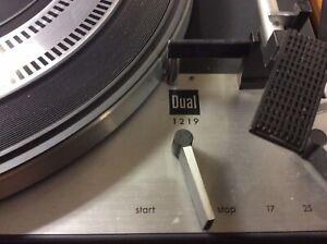 Dual 1219 Plattenspieler Mit Geheimfachzarge Mit Shure M91. MGD
