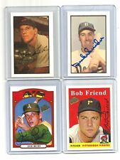 2003 TOPPS fan FAVORITES auto-SIGNED lot JOE RUDI card/SET #117 BOB FRIEND #6 +