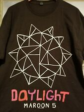 Maroon 5 2013 Daylight Xl Black Tshirt brand new
