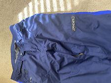 spyder ski pants mens large