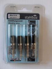 Bouchons Noir stahlbus m7 x 1,0 x 16 27,45 €//Pièce 4 x entlüfterventile