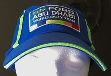 Collectable BP Ford 2009 Abu Dhabi World Rally Team Baseball Cap