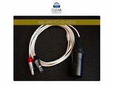 HD 800 S SENNH. Headphone Cable symmetrical XLR 4-PIN OCC Headphone Cable Upgr.