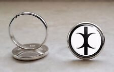 925 Sterling Silver Adjustable Ring Hand of Eris Discordianism