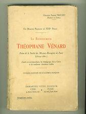 Théophane Vénard Martyr Français au XIX siècle Livre Ed 1929 Voir sommaire