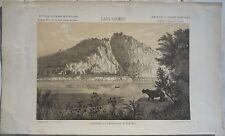 LAOS Rocher embouchure du Nam-Hou Voyage d'exploration en Indochine Garnier 1873