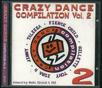 CRAZY DANCE COMPILATION VOL. 2 CD 1995 DISCO MAGIC CD nuovo