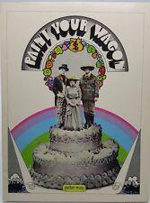 Paint your Wagon Souvenir booklet program 1969 Psychedelic Peter Max Mod