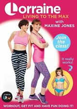 Lorraine Kelly - Living To The Max With Maxine Jones (DVD) *NEW & SEALED*