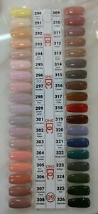DND DC Gel Polish Only New Collection #290 - 326 Full Set 36 pcs