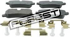 2901-DIIIR Genuine Febest Pad Kit, Disc Brake, Rear - Kit LR015519, LR016808