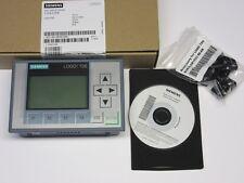 Siemens LOGO TDE Textdisplay 6ED1 055-4MH00-0BA1 12/24V Generation 8 NEU OVP