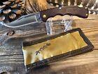 Vintage Buck knife Bucklite 422 pre 1986 one dot with sheath